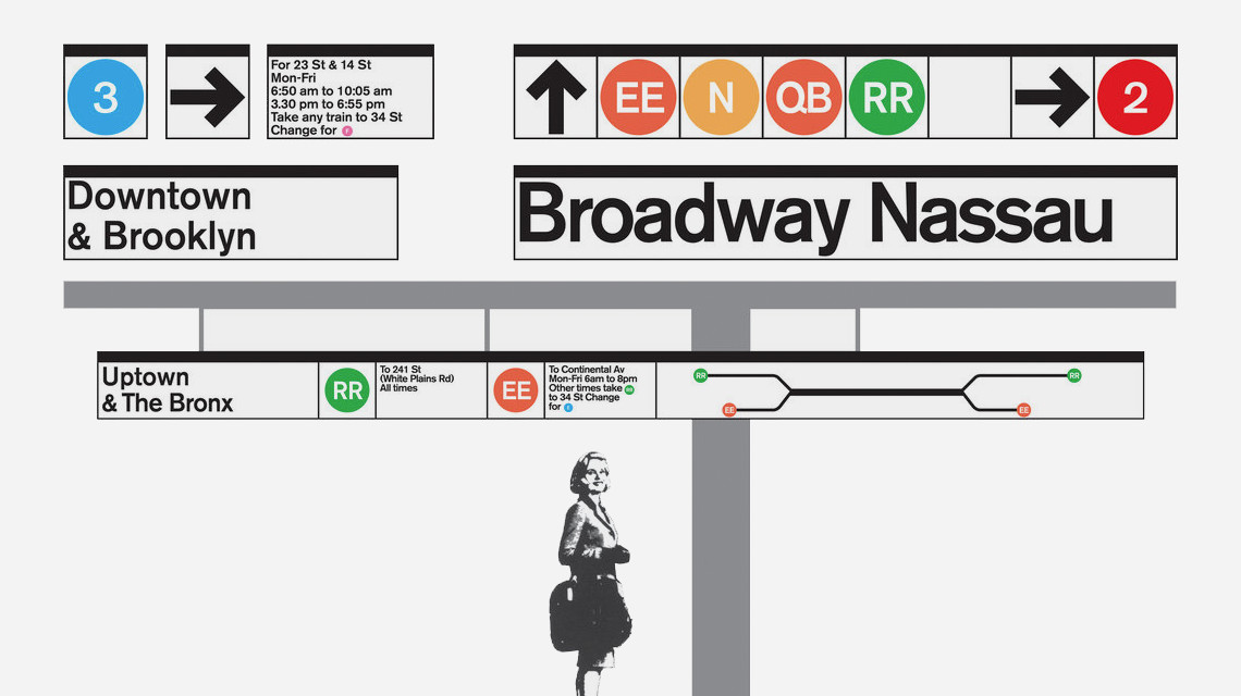 Massimo Vignelli 1972 Nyc Subway Map.The Importance Of A Map Web Guide University Of Saskatchewan
