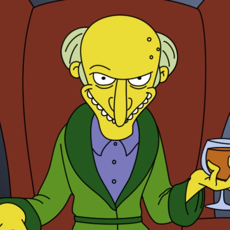 Picture of Mr.  Burns